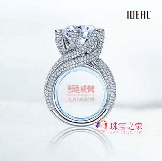 指 要最舒适的爱 爱迪尔珠宝首创圆弧超舒适戒指高清图片