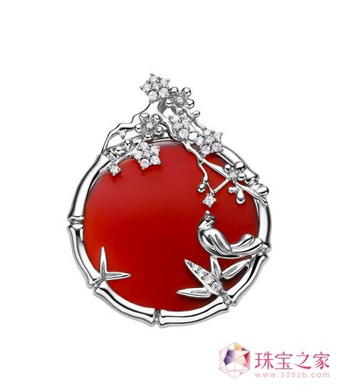 梅兰竹菊 珠宝首饰完美演绎花中四君子