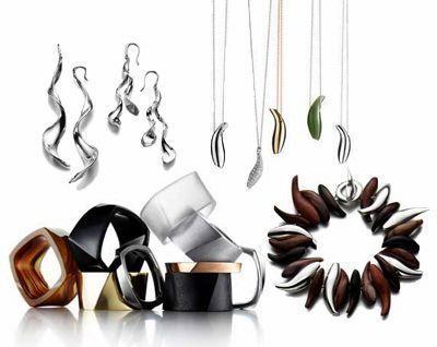 建筑大师frank gehry为蒂芙尼设计的珠宝
