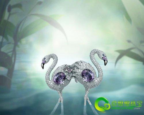 cartier动物王国珠宝系列 光彩夺目魅力非凡