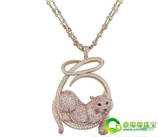 以蒂芙尼为首的新推出的动物珠宝首饰珠宝中