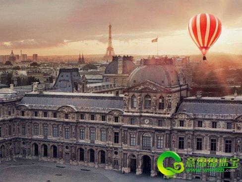 热气球升空的这幕含蓄地表现电影创作与巴黎艺术?#24149;? width=