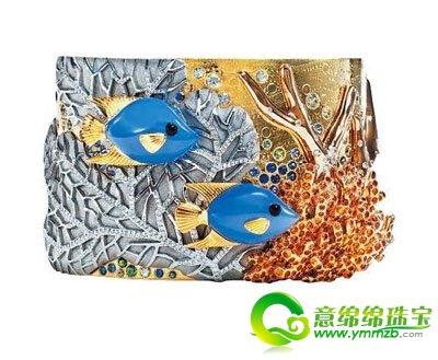 可爱的动物一直是蒂芙尼珠宝设计的灵感来源,细腻的做工配上闪耀夺目
