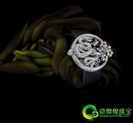 卡地亚趣味玄妙动物造型腕表 展现女性奢华高贵的魅力
