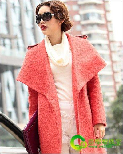 冬季毛呢大衣外套巧搭配