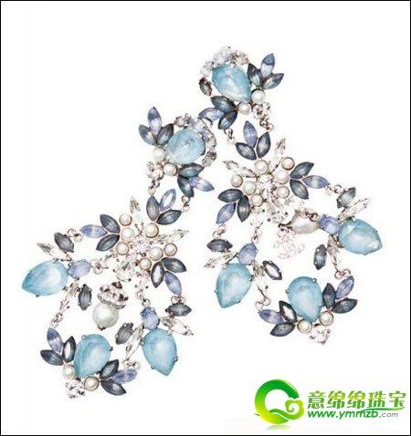 珠宝设计图 水彩