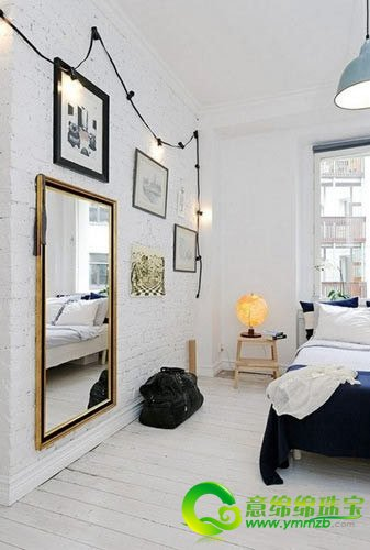 北欧婚房卧室设计风格