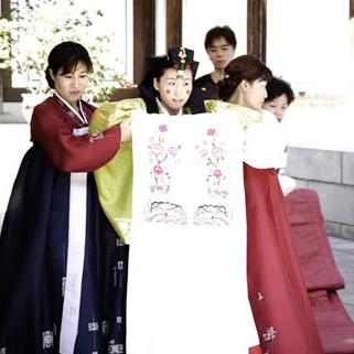 广州/长知识 韩国传统婚礼流程