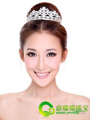 高贵冷艳or可爱俏皮 四款美丽新娘发型欣赏(2)