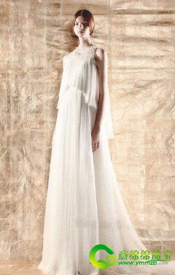 DELPOZO诠释纯真美好的岁月 全新婚纱系列浪