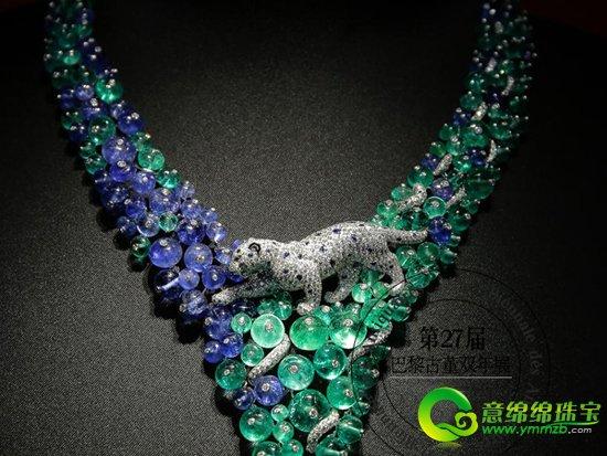 【导语】在汇聚了全球珠宝珍品的巴黎古董双年展上,没有你看不到的元素,只有你没想到的元素。大自然的灵感取之不尽用之不竭,最具灵动的莫过于动物元素,所以这也成为了珠宝设计师的宠儿。我们今天就一起来看看出现在双年展上的那些动物珠宝吧!  卡地亚——灵动奢华的动物元素珠宝  卡地亚——灵动奢华的动物元素珠宝 Cartier 卡地亚猎豹的多种风情