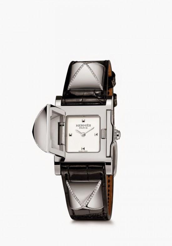 可藏匿的时间 爱马仕推出MEDOR腕表新品图片